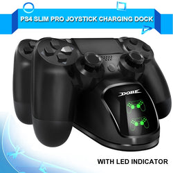 PS4/Slim/Pro Joystick Charger Play Station 4 PS 4 Controller Fast Charging Dock Station for Sony Playstation 4 Games