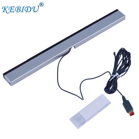 Wired Infrared IR Signal Ray Sensor Bar/Receiver for Nitendo Wii Remote Control Game Player