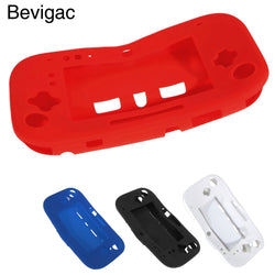 Bevigac Soft Silicone Protective Case Cover Skin Shell Protector for Nintendo Nintend Wii U Gamepad Console Controller