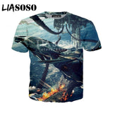 LIASOSO New Fashion T-Shirt 3D