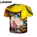 LIASOSO 2018 Summer New 3D T shirt