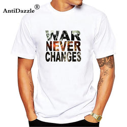 War War Never Changes T shirt Fallout 4 video game