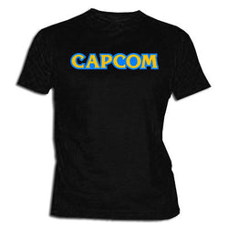 Capcom video game logo shirt XXL- XL- L- M- S- Size