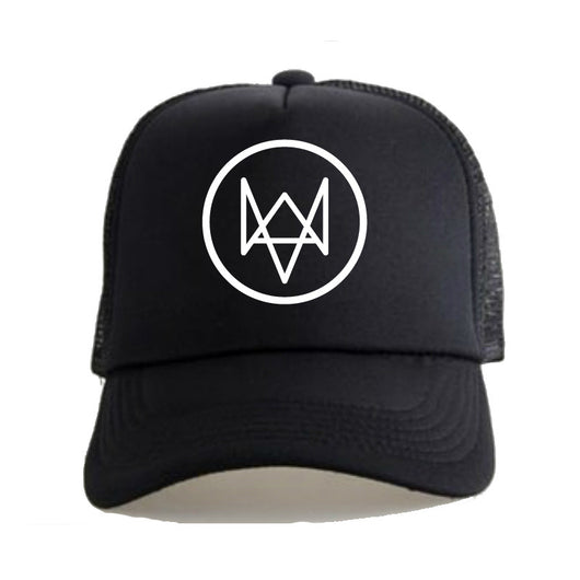 Watch Dogs Aiden Pearce  High Quality Fashion Black Sun Hat