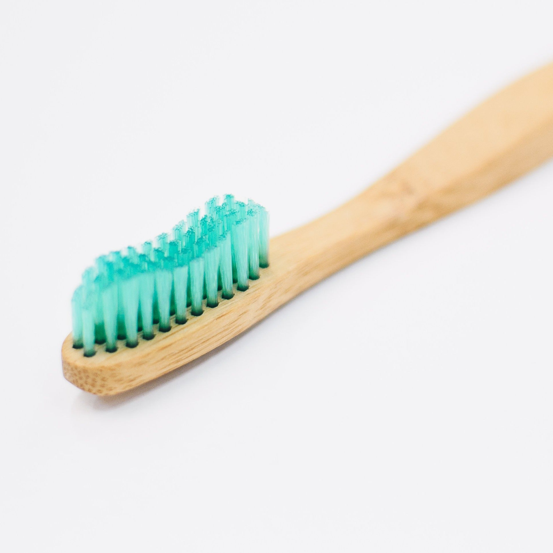 Single Bamboo Toothbrush With Soft Bristles