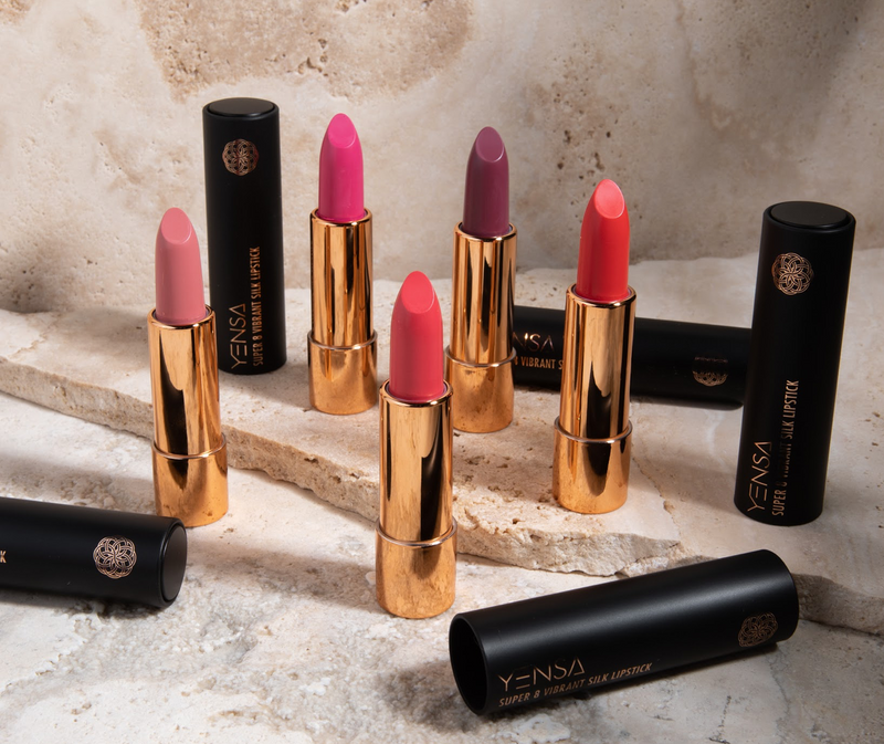 New Launch: The Super 8 Vibrant Silk Lipstick