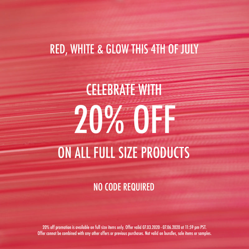 RED, WHITE & GLOW - 4th of July SALE