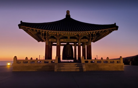 The Korean Bell image credit to Michael Mcleod
