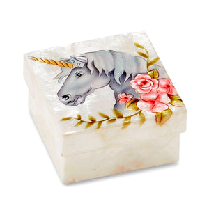 Unicorn Small Trinket Box (1262)