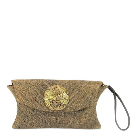 Hand Loom Vetiver Clutch (A9 BLK)