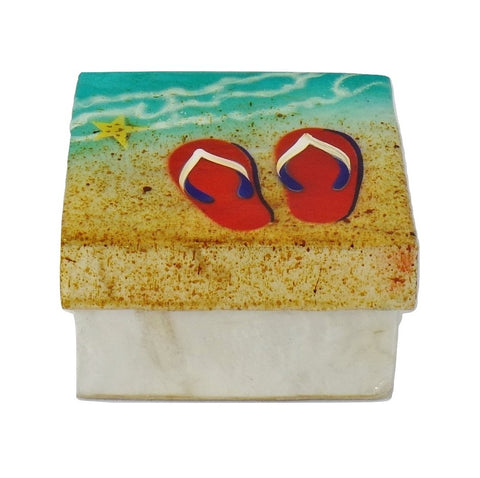 Small Flip Flop Trinket Box (1297)