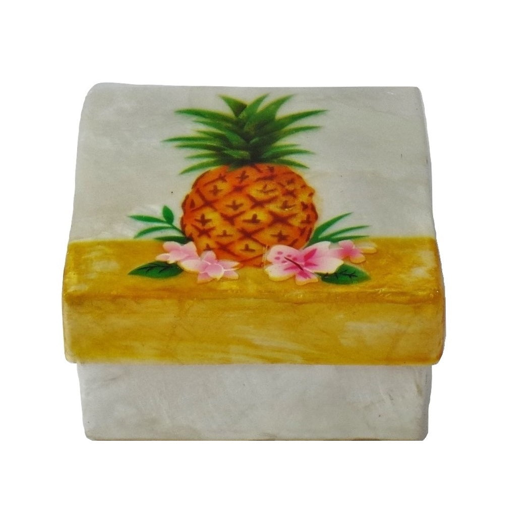 Small Pineapple Trinket Box (1522)