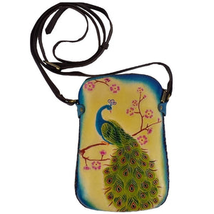 Peacock Cross-body Purse (AY45)