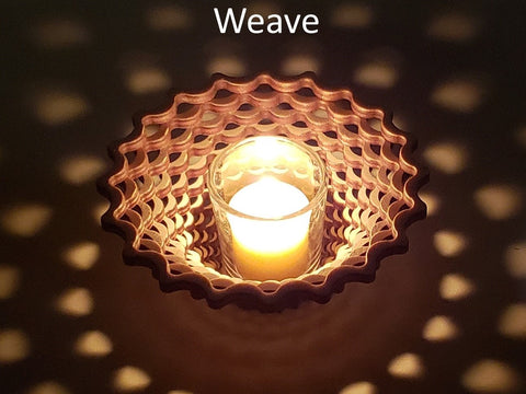 Weave Candle Holder