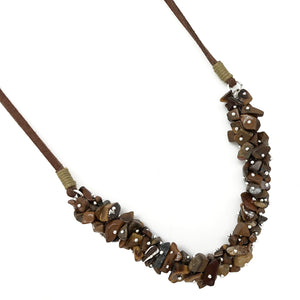 Tiger Eye Spirit Stone Necklace (SSN1TE)