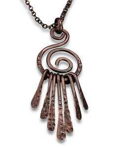 Dream Catcher Necklace (N3106AC)