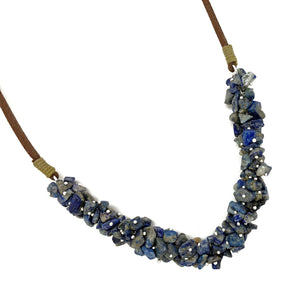Lapis Spirit Stone Necklace (SSN1L)