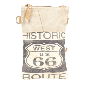 West US 99 Passport Canvas with Adjustable Strap (55920)