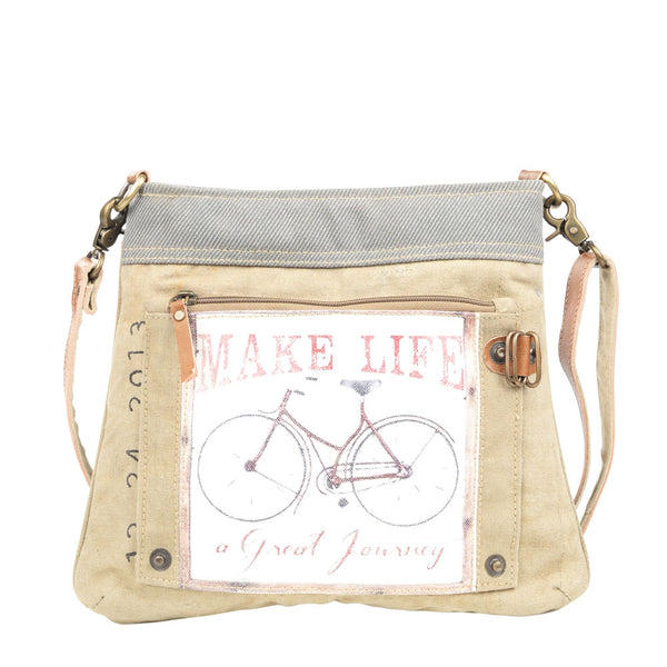 Make Life a Journey Shoulder/Crossbody Bag (55529)