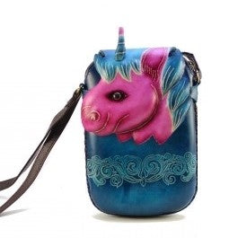 Unicorn Cross-body Purse (AY42)