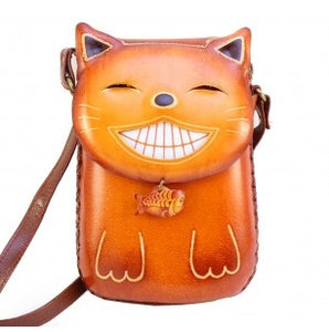 Happy Cat Cross-body Purse (AY51)