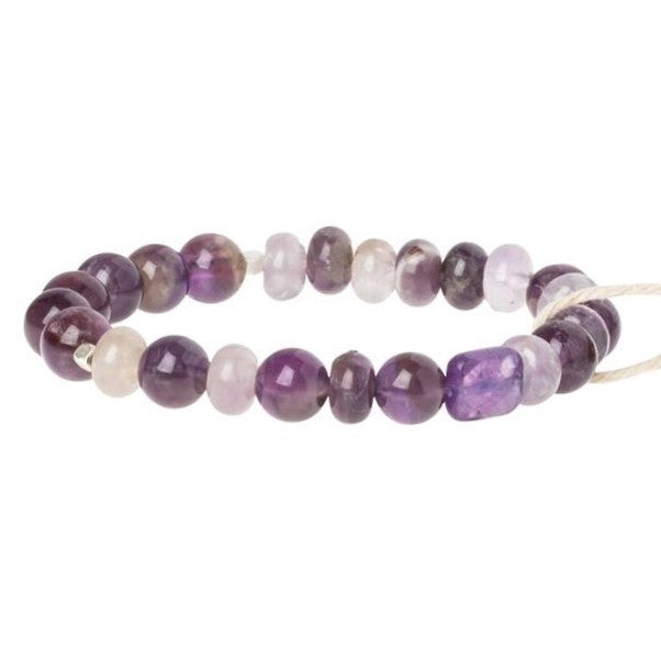 Amethyst Stone Bracelet-Stone of Protection (SS013)