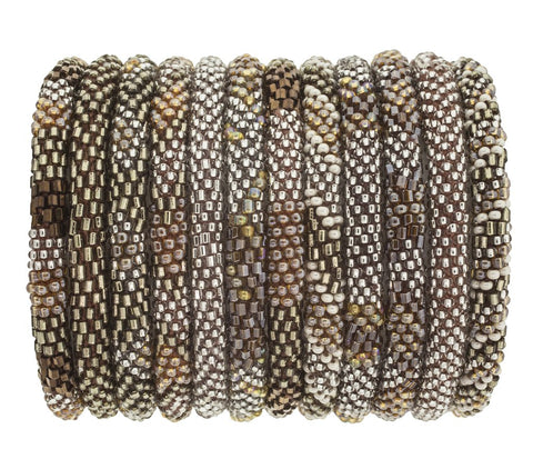 Hazelnut Roll On Bracelet