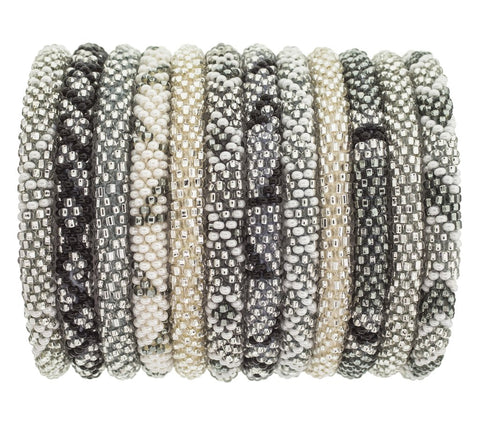 Platinum Roll On Bracelet