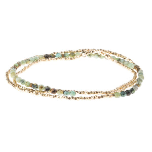 Delicate Stone African Turquoise - Stone of Transformation (SD006)