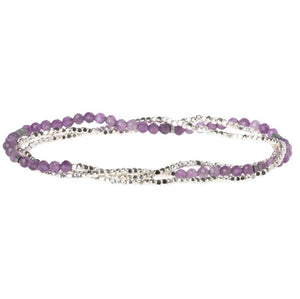 Delicate Stone Amethyst - Stone of Protection (SD012)