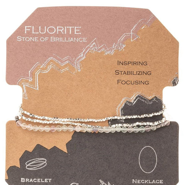 Delicate Stone Fluorite - Stone of Brilliance (SD016)