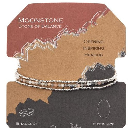 Delicate Stone Moonstone - Stone of Balance (SD021)