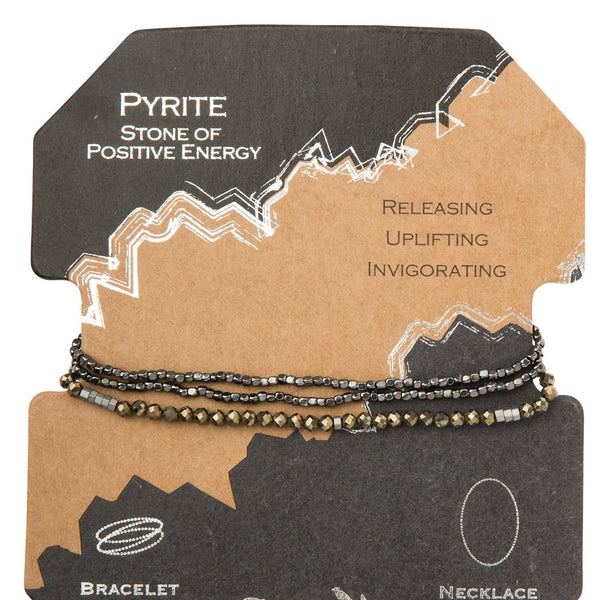 Delicate Stone Pyrite - Stone of Positive Energy (SD009)