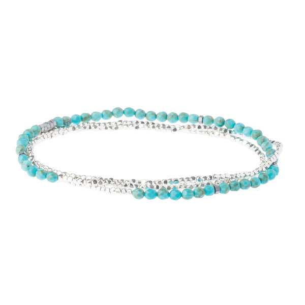 Delicate Stone Turquoise/Silver - Stone of the Sky (SD001)