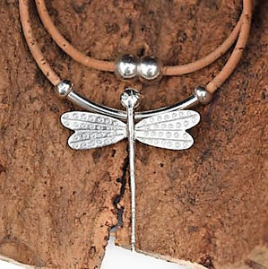 Sterling Silver Dragonfly Necklace (N31)