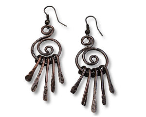 Dream Catcher Earrings (E3106AC)