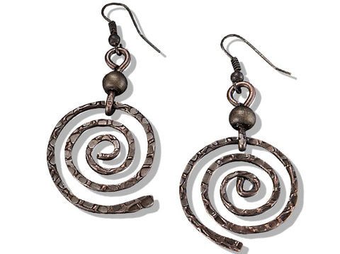 Banjara Swirl Earrings (E3119AC)