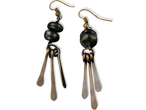 Kambaba Jasper Harmony Earrings (E3202)