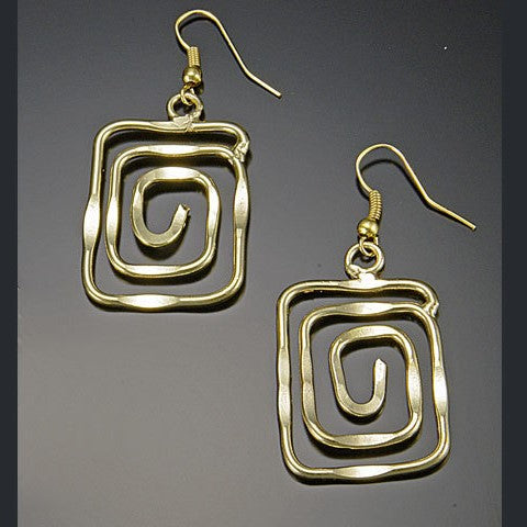 Gold Tidepool Earrings (E373G)
