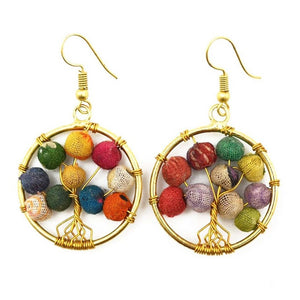 Aasha Tree of Life Earrings