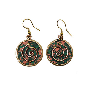 Esmay Patina Earrings (EP248)