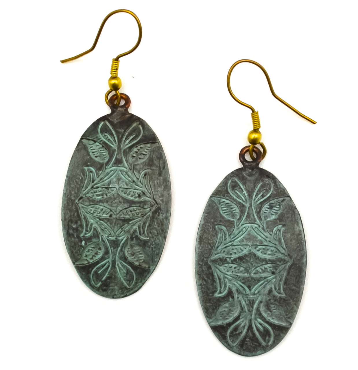 Copper Patina Earring 284  (EP284)