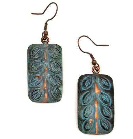 Copper Patina Earring 285  (EP285)