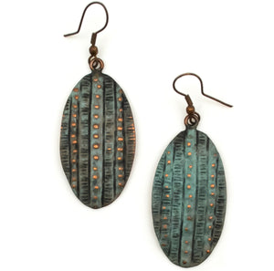 Copper Patina Earring 286  (EP286)