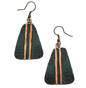 Copper Patina Earring 287  (EP287)