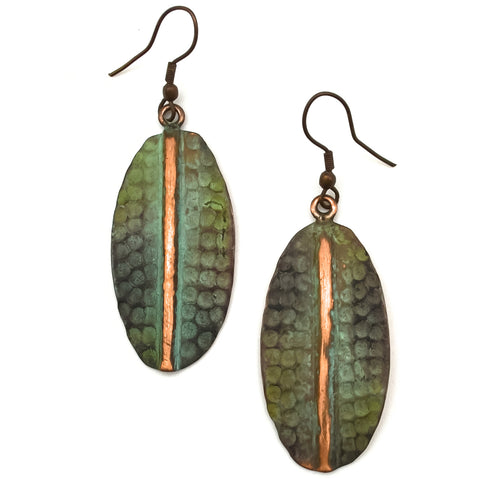 Copper Patina Earring 288  (EP288)