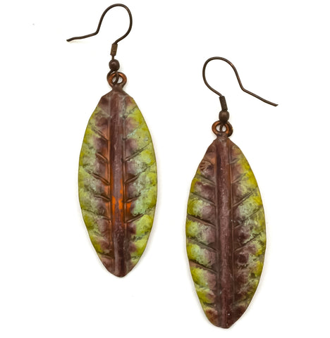 Copper Patina Earring 289  (EP289)