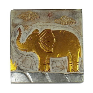 Wall Plaque-Elephant
