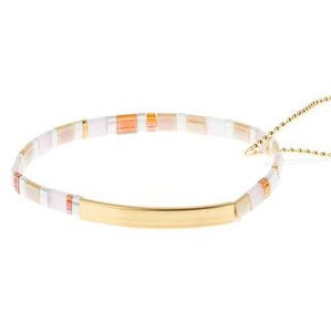 Good Karma Miyuki Bracelet | Pure Magic - Neutral/Gold (GK011)