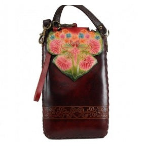 Butterfly Flower Cross-body Wallet (IH012)